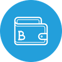 Wallet Bitcoin Money Icon