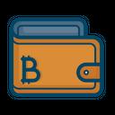 Wallet Bitcoin Money Icon