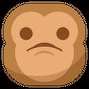 Want Sad Monkey Icon