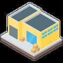 Warehouse Storehouse Storage Unit Icon