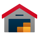 Warehouse Delivery Logistic Icon