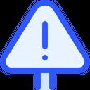 Map Navigation Warning Icon
