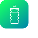 Water Bottle Drink Icon