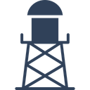Water Filtration Plant Water Plant Water Tower Icon