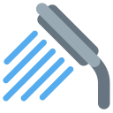 Water Tape Shower Icon