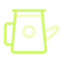 Water Spring Watering Can Icon