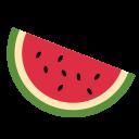Watermelon Fruit Emoj Icon