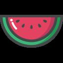 Watermelon Fruit Vitamin Icon