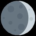 Waxing Crescent Moon Icon