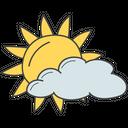 Cloudy Day Sunrise Daytime Icon