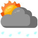 Day Rain Weather Cloud Icon