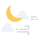 Weather Moon Star Icon