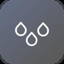 Rain Drib Drop Icon