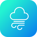 Thunder Cloud Cloudy Icon