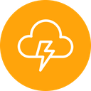 Thunder Cloud Light Icon