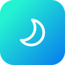 Thunder Half Moon Icon