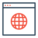 Web Analysis Optimization Icon