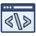 Development Process Web Development Web Programming Icon