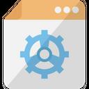 Web Configuration Web Maintenance Services Web Settings Icon