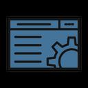 Web Customize Web Setting Web Options Icon