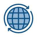 Web Earth Online Icon