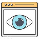 Web Eye Icon