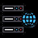 Web Hosting Hosting Network Icon