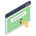 Web Login Sign In Password Icon