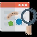 Web Monitoring Website Monitoring Analysis Icon