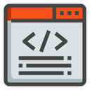 Seo And Web Website Programming Icon