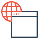 Web Seo Window Icon
