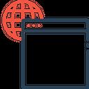 Web Seo Window Icon