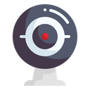 Webcam Music And Multimedia Live Icon