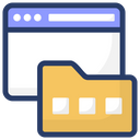 Webpage Folder Icon