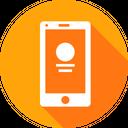 Webpage Mobile Login Icon