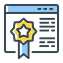 Page Rank Seo Icon