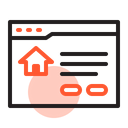 Real Estate Property House Icon