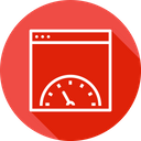 Website Page Speed Icon