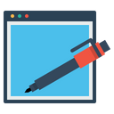 Website Webpage Edit Icon