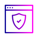 Website Webpage Secure Icon