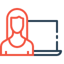 Website Webpage Visitor Icon