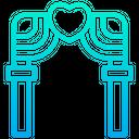 Arch Love Heart Icon