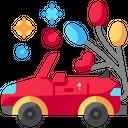 Wedding Car Car Automobile Icon