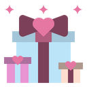 Wedding Gift Gift Box Icon