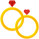 Wedding Celebration Marriage Icon
