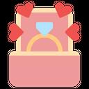 Wedding Ring Ring Diamond Ring Icon