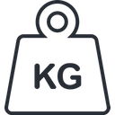 Weight Kg Scale Icon