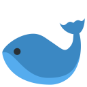 Whale Aquatic Mammal Icon