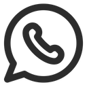 Social Media Whatsapp Logo Icon