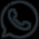 Whatsapp Telephone Handset Icon